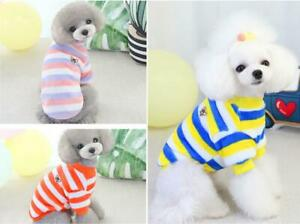 Puppy Dog Cat Jumper for Pets Sweater for Small Dogs Clothes Vest Warm Coat