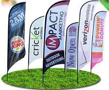 Custom Printed piuma Flag XL 5.6 M Banner mostra gli eventi al dettaglio