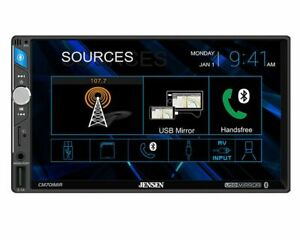 Mitsubishi Outlander Jensen CM701M 7'' Digital Navigation Mirror Bluetooth Touch