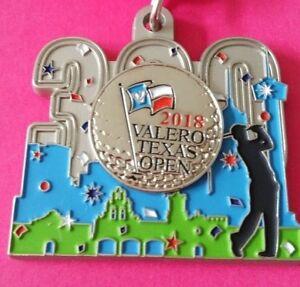 2018 Official Valero Texas Open Tricentennial 300 Fiesta Medal Golf Ball Marker