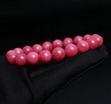 Rhodochrosite Gemstone Beads Bracelet 10mm Natural Argentina Rose