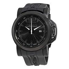 Haurex San Marco Black Dial Stainless Steel Mens Watch 1N370UNN