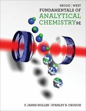 Fundamentals of Analytical Chemistry, 9E by Stanley Crouch, F. James Holler