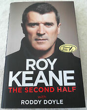 NEW!! ROY KEANE SIGNED AUTOBIOGRAPHY HARD COVER BUY AUTHENTIC MANCHESTER UNITED