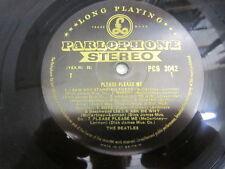 THE BEATLES PLEASE PLEASE ME LP UK 1ST STEREO BLACK GOLD 1G / 1R DICK JAMES