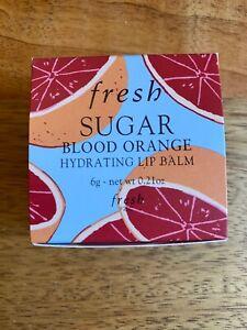 Fresh Sugar  Hydrating Lip Balm - Blood Orange -  6g - Boxed - New - FREE POST