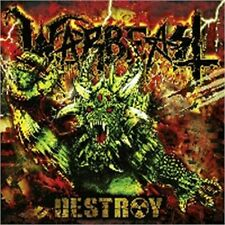 WARBEAST - Destroy (NEW*US TEXAS THRASH METAL KILLER*RIGOR MORTIS*SLAYER)