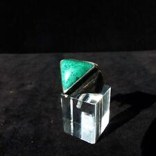 Ring Gr. 55 Silber 925 mit Malachit