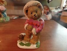 The Danbury Mint Calendar Teddy Bear Figurine-February #2006