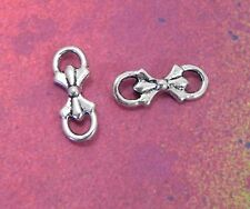30 Bow Bowknot Knot Bows Charm Findings Connector Pendants Charms Connectors