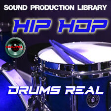 HIP HOP DRUMS Real - Large original Samples/loops production Library on DVD