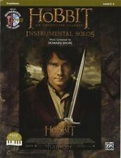 The Hobbit An Unexpected Journey Instrumental Solos Trombone Music Book & MP3 CD