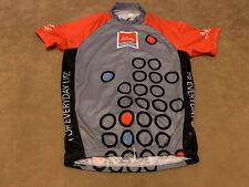 Cyclist Lilly Diabetes Primal Shirt Medium Full Zip Pockets On Back Jersey