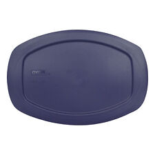 Pyrex C-702-PC Blue 1.3Qt Oval Plastic Storage Lid for Easy Grab Casserole Dish