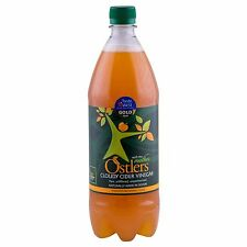 """Ostlers Raw Cloudy Kosher Apple Cider Vinegar with """"The Mother"""" 1 Ltr"""
