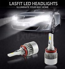 H8 H9 H11 COB LED Car Led Headlight Bulbs 110W/20,000LM! Lights 6000K White