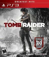 Tomb Raider (Greatest Hits) Ps3 New PlayStation 3, Playstation 3