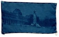 Five Vintage Cyanotype Photos on Cloth – England