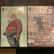 Shaolin Cowboy: Who'll Stop the Reign? complete 1, 2, 3, 4 NM/M Geoff Darrow
