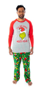 Dr. Seuss The Grinch Who Stole Christmas Matching Family Pajama Sets
