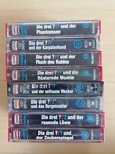 Die drei Fragezeichen MC - Paket 2 - RAR  - div. Folgen - Kassette