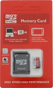micro SD Karte inkl. ADAPTER bis 100MB/s Speicherkarte 32GB 64GB 128GB 256GB 512