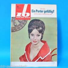 DDR Zeit im Bild ZB NBI 21/1965 Siegesparade Boxen Paletten Lipari Metropol