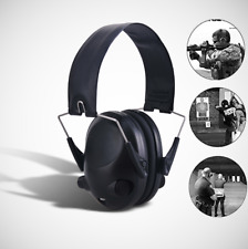 Tactical Electronic Ear Muffs Hearing Protection Shooting Anti-Noise Protector