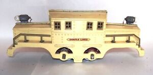 "Dorfan Prewar Standard Gauge 3930 ""Crocodile"" Electric Locomotive! PARTS! PA"