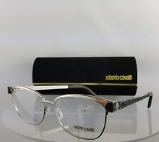 Brand New Authentic Roberto Cavalli Eyeglasses Rigel 945 016 55mm Silver Frame