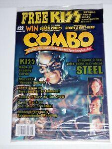 KISS Band Cornerstone Promo Card P9 in COMBO Magazine #32 Sept 1997