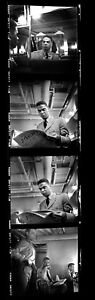 1955 Black GAY Icon EARLE HYMAN  4 Photo Negatives by Van Williams