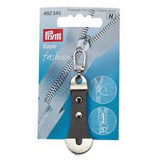 Prym Cremallera de Moda Cuero Y Metal, Gris 482345
