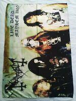 MAYHEM - Live dead: Mayhem 1990 FLAG Heavy death black METAL cloth poster