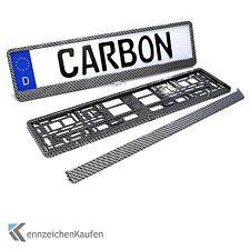 2 Carbon Kennzeichenhalter   Nummernschildhalter   Kennzeichenhalterung (1 Paar)