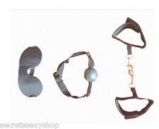 Morso bondage manette cavigliere fetish design gag ball e maschera sexy shop