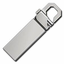 16GB USB 2.0 Metal Flash Pen Drive Memory Stick Thumb Portable Keychain U Disk