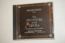 Highlights from the Phantom of the Opera Cast Ensemble (CD 1987, Polydor) USA