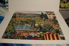 PUZZLE..JIGSAW....WOOD PIECES..Afternoon In Tuscany