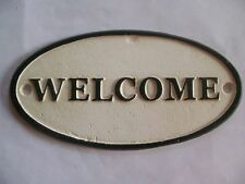 Unbranded Welcome Hand Painted Decorative Plaques & Signs