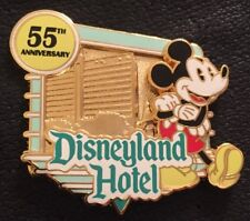 Disneyland Hotel 55th Anniversary LE 1000 2010 3D  Mickey Mouse Pin 80452