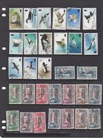 CMD21) Falkland Is. & Dependencies. About 90 complete fine used (cto) sets