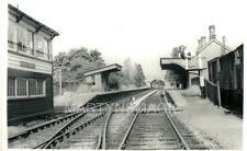 AB1 Real Railway Photograph Addersbury Station 1962