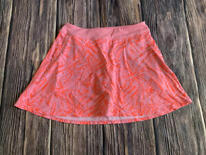 Women's Under Armour Pink Fitted Athletic Work Out Skirt Skort Size Medium