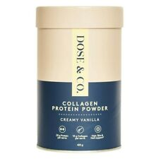 Dose & Co. Collagen Protein Powder Creamy Vanilla 420g