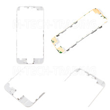 NEW GENUINE IPHONE 6 WHITE OUTER LCD TOUCH SCREEN TRIM BEZEL + 3M STICKER PART