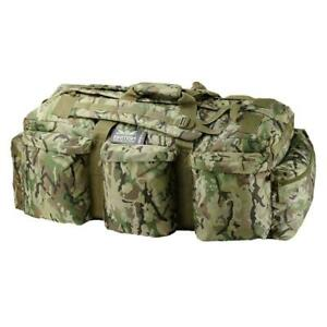 Kombat Assault Holdall BTP Camo Airsoft Camping Kit Bag Army Style