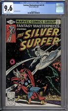 Fantasy Masterpieces 4 CGC Graded 9.6 NM+ White Silver Surfer Marvel Comics 1979