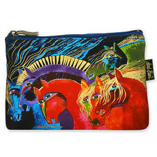 LAUREL BURCH - MYTHICAL HORSES COSMETIC BAG - HORSES OF FIRE - NWT!