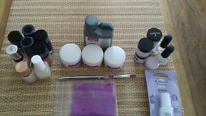 USED Quick Dip Acrylic Nails powdere and acrylic powder set- open once